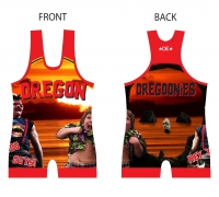 Women's Red 2016 Team Oregon Singlet